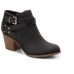 Indigo Rd. Sigrid Black Ankle Booties 9